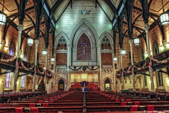 10 Most Beautiful Churches In Baltimore United Methodist Church