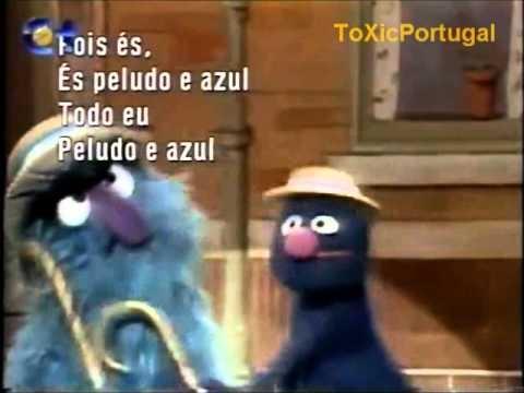 Peludo e Azul (Rua Sésamo) RTP [1992]