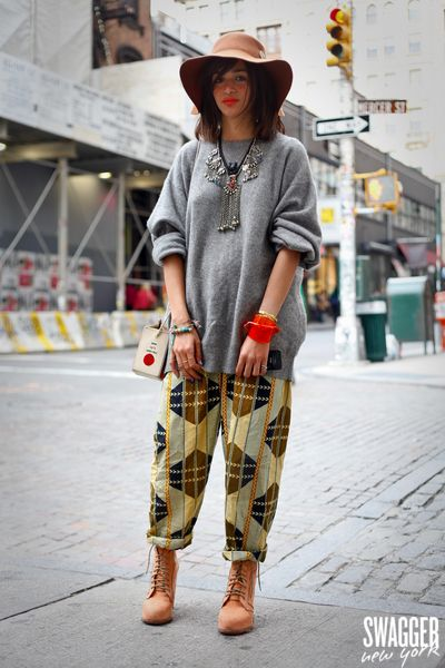 laila gohar spotted by Swagger NY
