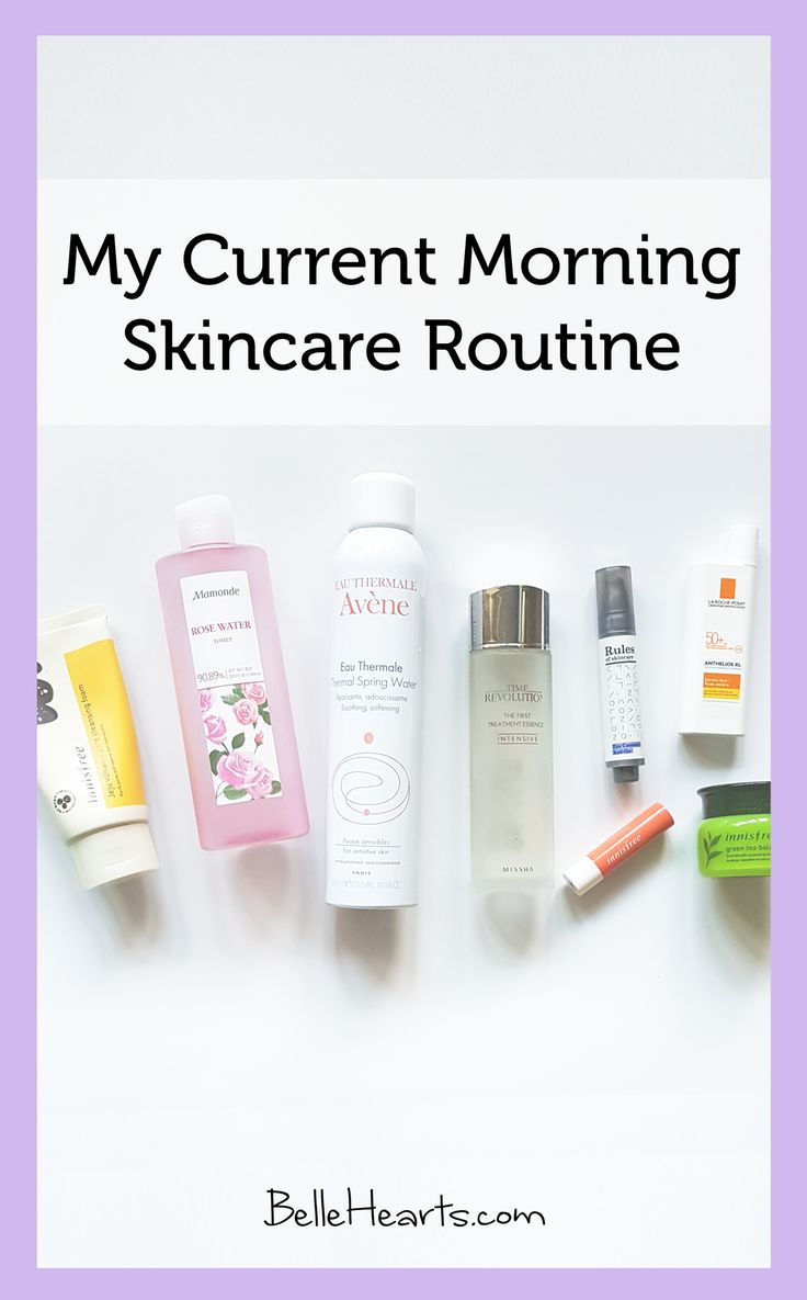 My Current Morning Skincare Routine