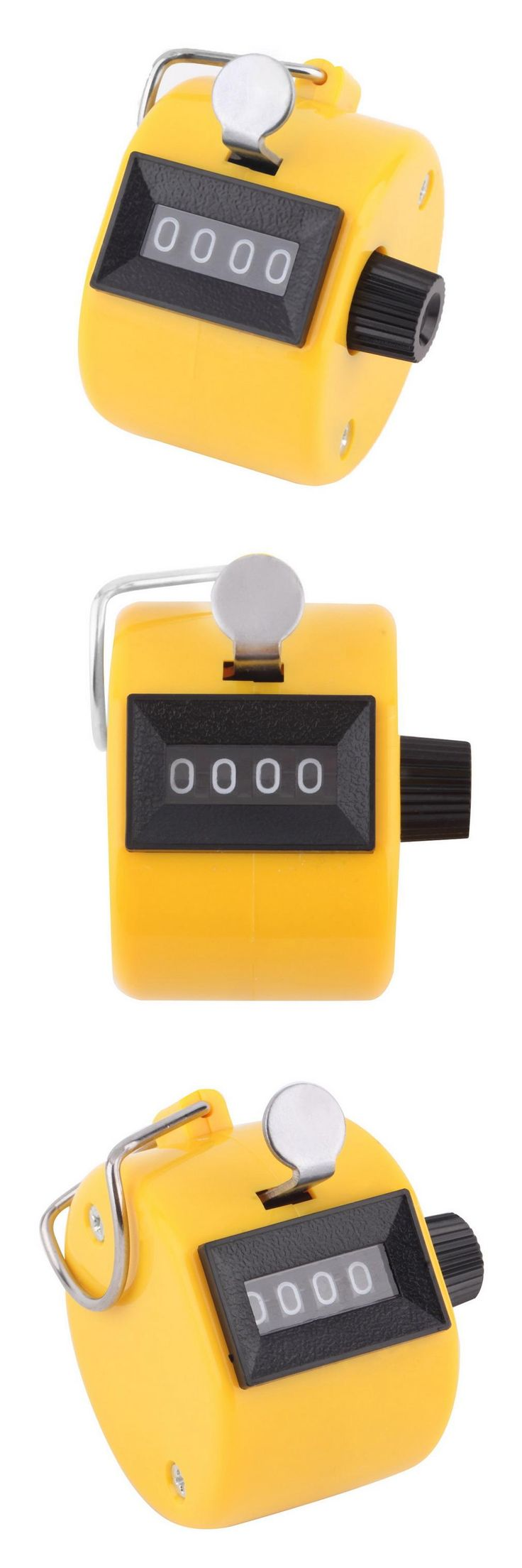 [Visit to Buy] New Arrival Digital Chrome Hand Tally Clicker/Counter 4 Digit Number Clicker Golf #Advertisement