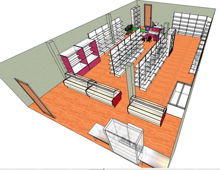 Продуктовый магазин Радуга, проект оснащения магазина - TorgMax