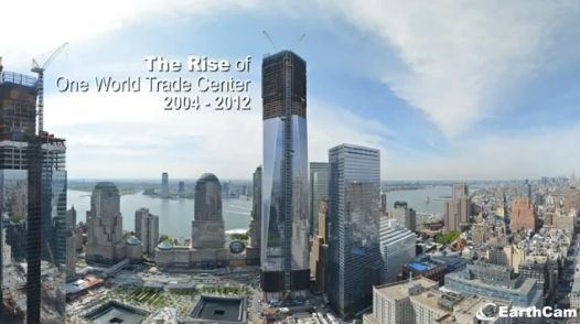 """Architecture: Video: One World Trade Center 2004-2012: """"..In honor of One World Trade Center becoming the tallest building inNew York,EarthCamhas released an exciting time-lapse movie showcasing the construction progress from 2004-2012. In just a couple minutes, you can witness years of construction. Not only is the process a moving one on an emotional level, but also sheds hope on a site that holds such strong meaning in the U.S. for a time in history that will never be forgotten..""""…"""