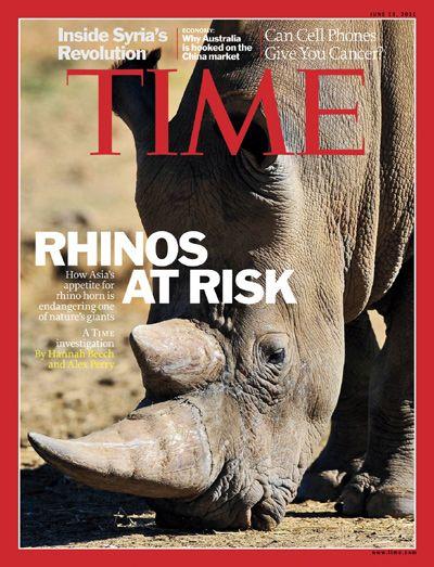 save the rhino... shoot a poacher