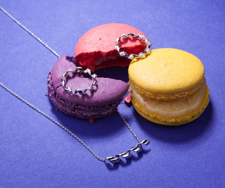 Paris style. Macaroons and jewellery. PIERRE joaillerie
