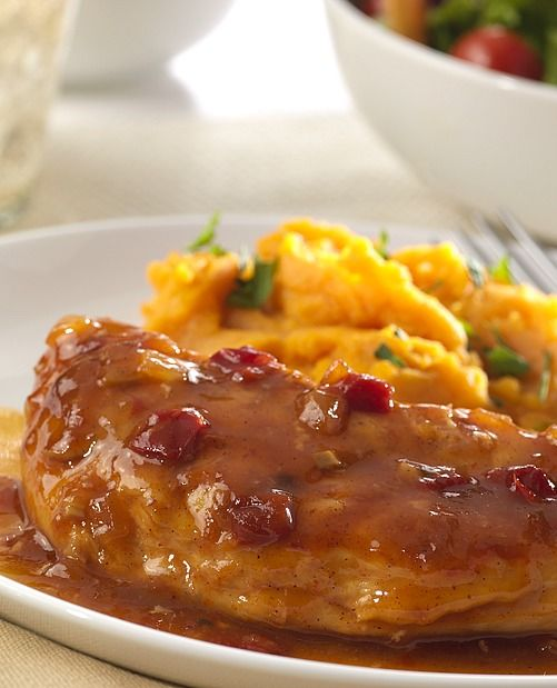Slow Cooker Spicy Apple Bourbon Chicken | Recipe | Cook in ...