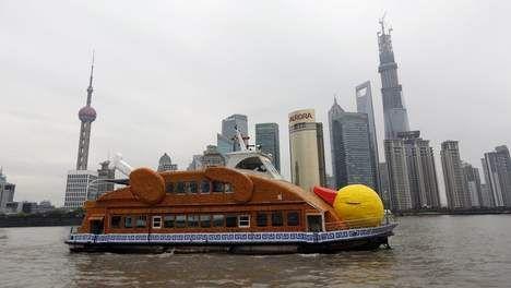 Nederlandse badeend krijgt navolging in China met varende geroosterde eend - Buitenland - TROUW