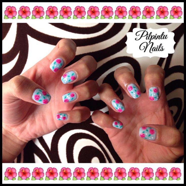 Roses! #nails #nailart #lacquerpro