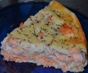 Заливной пирог с рыбой рецепт приготовления с фото | Куча Рецептов