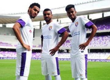 Al Ain FC 2014 Nike Home and Away Kits