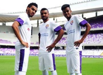 Al Ain FC 2014 Nike Home and Away Kits
