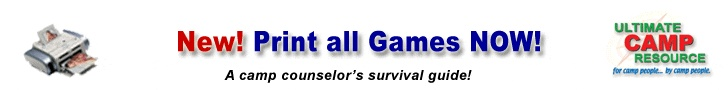 This site has tons of games and challenges (low ropes) from camps all over the country. It's a lot to sift through but an excellent resource.
