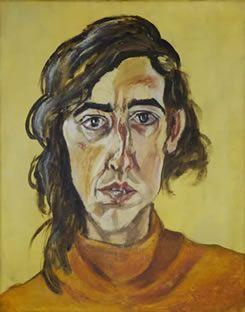 Marcia Schvartz, Autorretrato con nariz rota, 1983