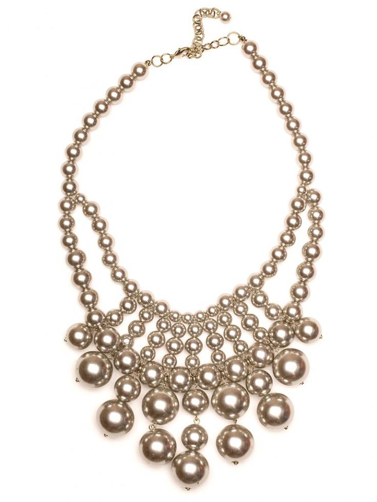 tahitian pearl bib / baublebar: Baubles Bar, Tahitian Bibs, Statement Necklaces, Pearls Necklaces, Pearls Bibs, Pearls Beautiful, Bib Necklaces, Tahitian Pearls, Bibs Necklaces