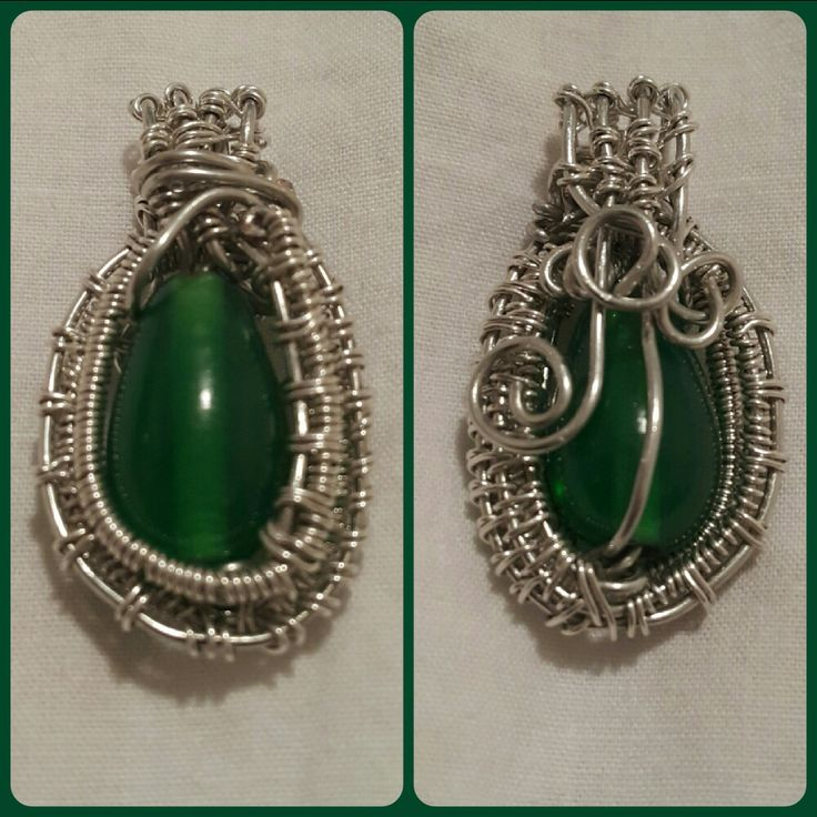 Glass Bead wire wrapped
