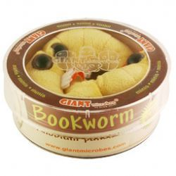 """Cute cuddly """"book worms"""" will make any writer - or reader - smile!"""
