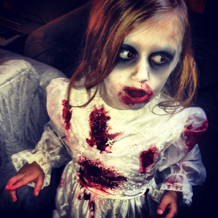 Zombie kids makeup Halloween Time Pinterest Kid - Kids Halloween Makeup Ideas
