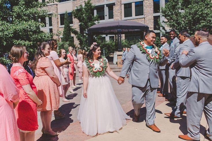 Riverwoods Conference Center Wedding | Polynesian Wedding Utah
