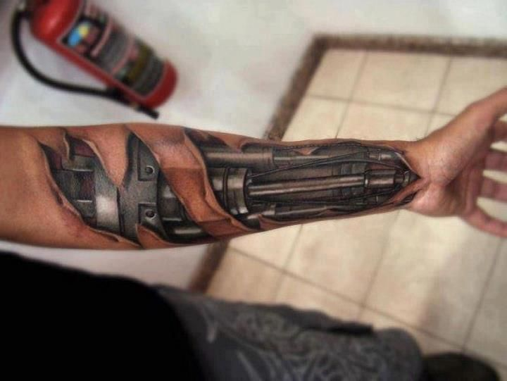robot arm tattoo 720 541 tatto pinterest ferrari design und tattoo designs. Black Bedroom Furniture Sets. Home Design Ideas