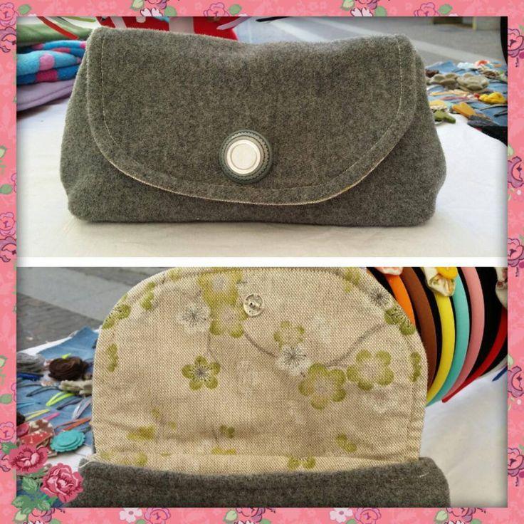 POCHETTE /CLUTCH / PICCOLA BAG A MANO, by madame babette, 10,00 € su misshobby.com
