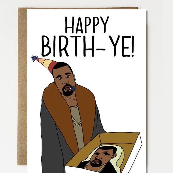 Funny Birth Ye High Quality Funny Happy Birthday Card Etsy Happy Birthday Card Funny Funny Birth Happy Birthday Cards
