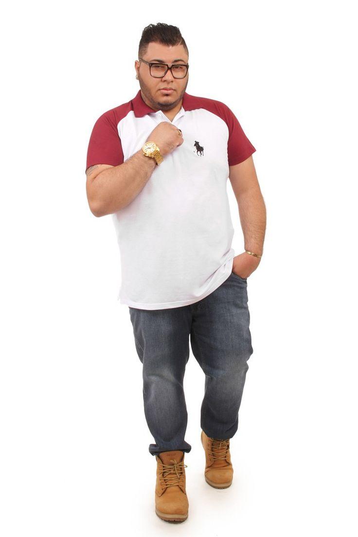 Camiseta Polo Plus size