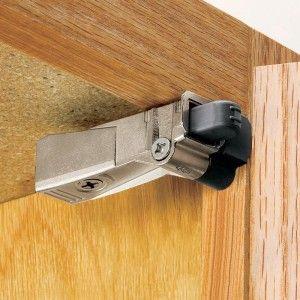 Fix Glides In Kitchen Cabinet