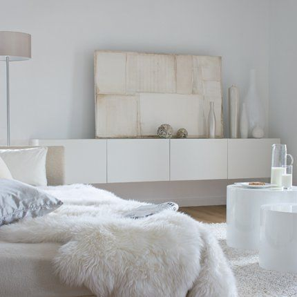 Weekly favorites, october the 8th Nuances de blanc shades of white #livingroom