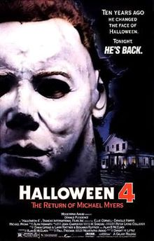 """John Carpenter's slasher (and theme) is back (J.C. himself, not so much): Michael Myers stalks Laurie Strode's daughter Jamie Lloyd (in her first movie, a young Danielle Harris, Rob Zombie's """"Halloween"""")."""