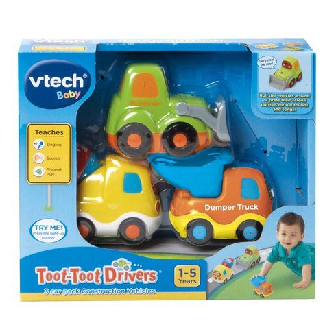 Superb Toot-Toot Drivers 3 Car Pack Construction Vehicles Now At Smyths Toys UK! Buy Online Or Collect At Your Local Smyths Store! We Stock A Great Range Of Vtech Infant At Great Prices.