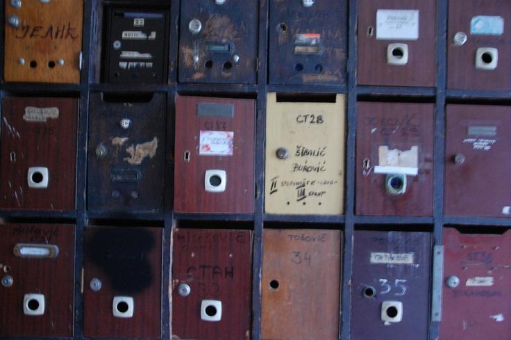 Buche delle lettere a Belgrado