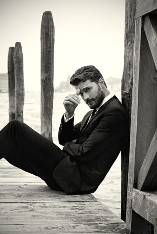 Jamie Dornan... no one cares about this 50 shades crap...he'll always be The Huntsman!