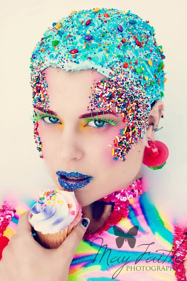 Pin By Brooke Moncada On Headpieces Candy Makeup Costumes Creative