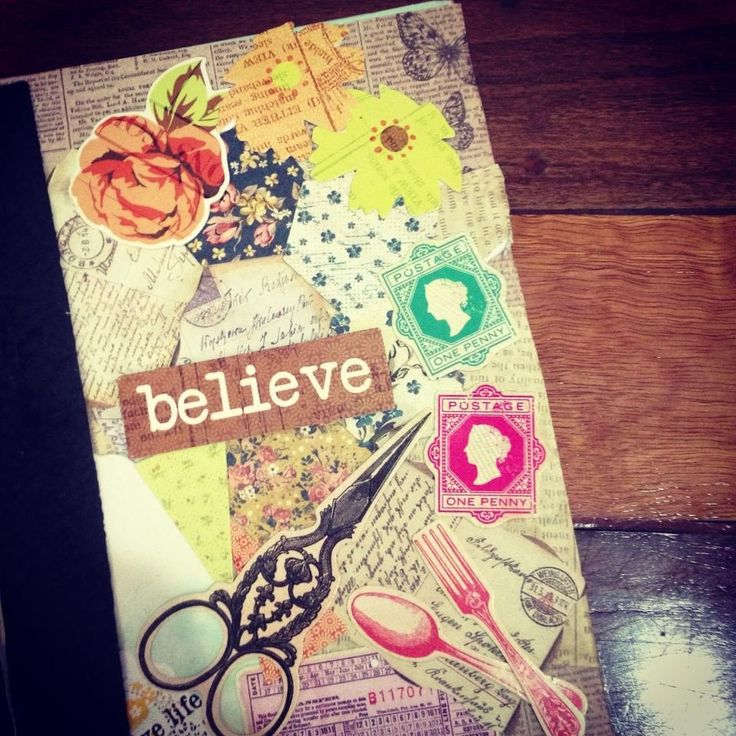 """Believe"" Notebook"