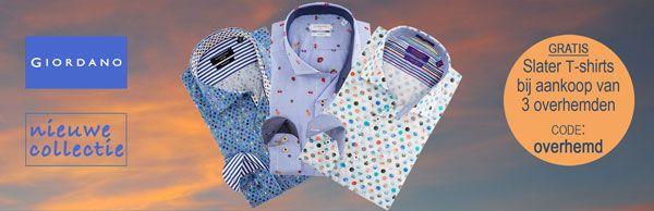 Nú verkrijgbaar: de nieuwe Modern Fit #overhemden van #Giordano Un Limited met perfecte pasvorm en mooie prints. https://www.shirtsupplier.nl/nl/nieuw-merk/giordano-un-limited/modern-fit