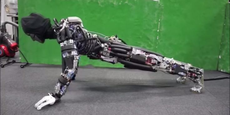 Researchers Build Robot That Sweats To Cool Off