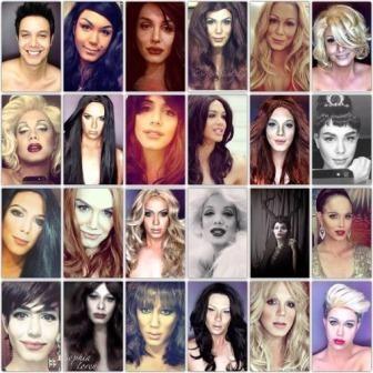 Celebrities Look Alike Transformations - Male to Female - http://www.styledetails.com/celebrities-look-alike-transformations-male-to-female - http://i.imgur.com/6hJoirYl.jpg