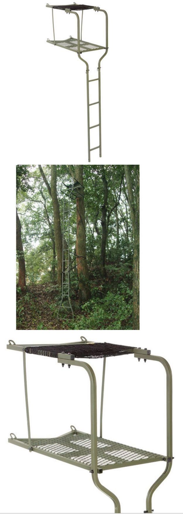 17 best ideas about tree stand hunting on pinterest deer for Ladder deer stands