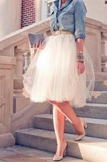 Gonne di tulle