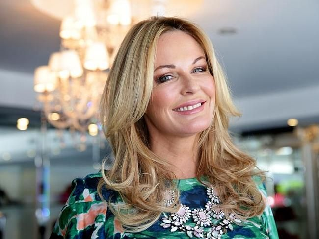 Charlotte Dawson pictured at Cosmopolitan Shoes in Sydney's Double Bay, where she loved t
