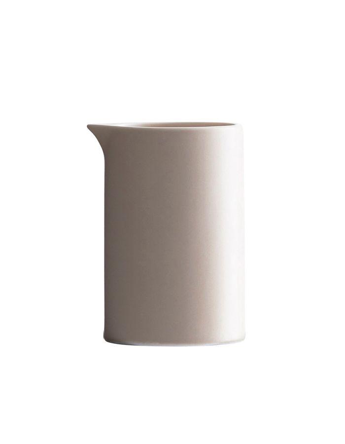 Porcelánová konvička na mléko - pudrová / kitchenette shop