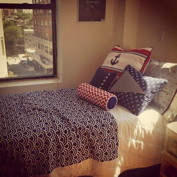 Nautical dorm  snug house bug house  Pinterest  I wish  ~ 053605_Nautical Dorm Room Ideas
