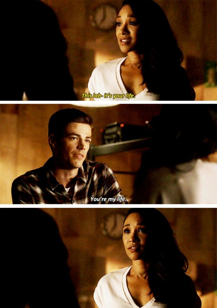 """You're my life"" - Barry and Iris #TheFlash"