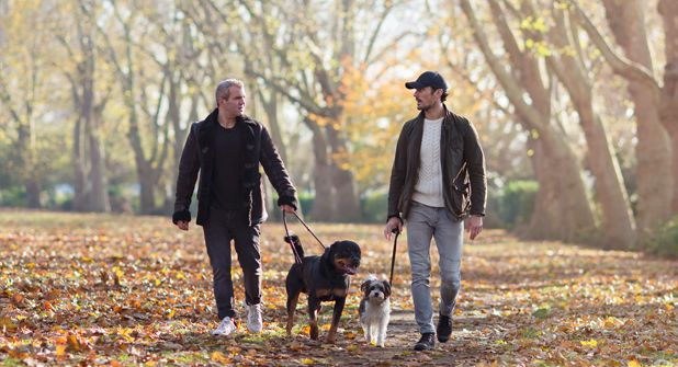 Barry the Dog Jogger shares an exclusive, short interview with Natural Instinct with his good mate, David Gandy!