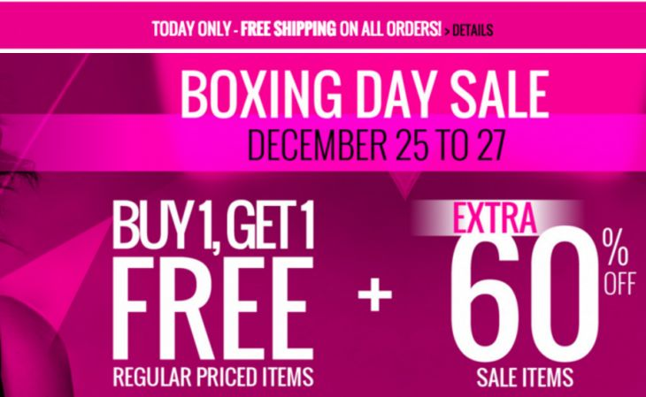 Penningtons Canada Boxing Day & Boxing Week 2015 Sale: Buy One Get One FREE Regular Priced Items Extra 60% Off... http://www.lavahotdeals.com/ca/cheap/penningtons-canada-boxing-day-boxing-week-2015-sale/55173