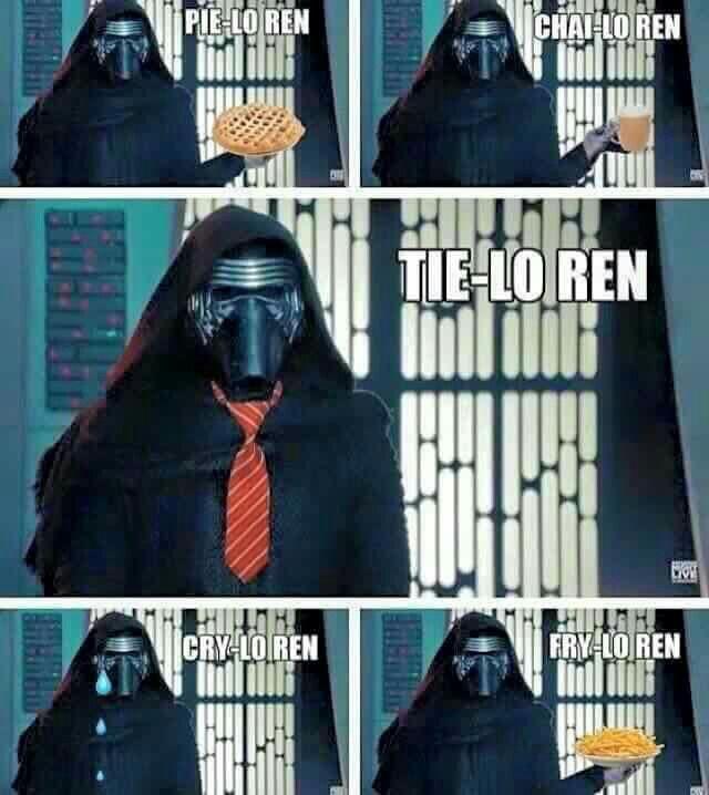Kylo Ren humor, Star Wars, TFA