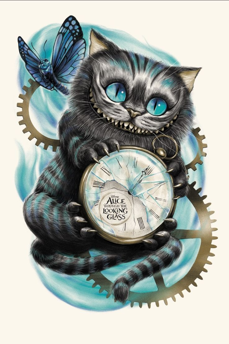 #DisneyAlice Artist: Sara Deck // Exhibition: Alice Through the Looking Glass Art Showcase (Presented by Hero Complex Gallery and Disney Fine Art)