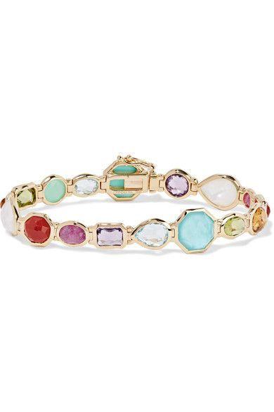 Ippolita - Rock Candy 18-karat Gold Multi-stone Bracelet - one size