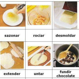 981 best images about espa ol vocabulario videos juegos - Juegod de cocinar ...
