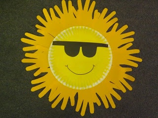 Sunshine Craft we did in our classroom ~ Sherry & Melissa